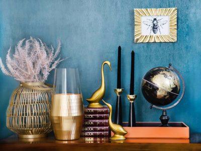 West Elm Gold Vase